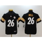 NFL Youth Pittsburgh Steelers Bell #26 black Jersey
