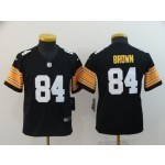 NFL Youth Steelers Antonio Brown #84 black New 2018 Legend Jersey