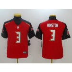 NFL Youth Tampa Bay Buccaneers Jameis Winston #3 red Jersey
