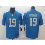 NFL Detroit Lions #19 Kenny Golladay Sky Blue Vapor Untouchable Limited Jersey