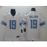NFL Detroit Lions #19 Kenny Golladay White Vapor Untouchable Limited Jersey