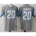 NFL Detroit Lions #20 Barry Sanders Grey Vapor Untouchable Limited Jersey