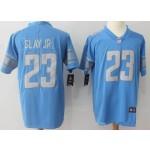 NFL Detroit Lions #23 Darius Slay Jr Sky Blue Vapor Untouchable Limited Jersey