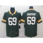 NFL Packers #69 David Bakhtiari Green Vapor Untouchable Limited Jersey