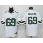 NFL Packers #69 David Bakhtiari White Vapor Untouchable Limited Jersey