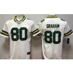 NFL Packers #80 Jimmy Graham White Vapor Untouchable Limited Jersey