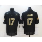 Nike Packers #17 Davante Adams Black Camo 2020 Salute To Service Limited Jersey