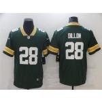 Green Bay Packers #28 A.J. Dillon Green Vapor Limited Jersey