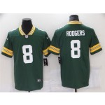 Green Bay Packers #8 Amari Rodgers Green Vapor Limited Jersey