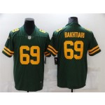 Green Bay Packers #69 David Bakhtiari Alternate Green Vapor Limited Jersey