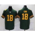 Green Bay Packers #18 Randall Cobb Alternate Green Vapor Limited Jersey