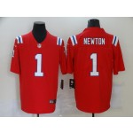 Nike Patriots #1 Cam Newton Red Vapor Untouchable Limited Jersey