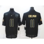 Nike Patriots #11 Julian Edelman Black 2020 Salute To Service Limited Jersey