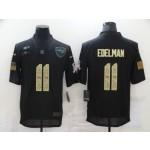 Nike Patriots #11 Julian Edelman Black Camo 2020 Salute To Service Limited Jersey
