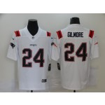 Nike Patriots #24 Stephon Gilmore White New Vapor Untouchable Limited Jersey