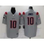 Nike Patriots #10 Mac Jones Gray Vapor Untouchable Limited Jersey