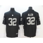 Nike Raiders #32 Marcus Allen Black Vapor Untouchable Limited Jersey