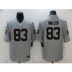 Nike Raiders #83 Darren Waller Gray Inverted Legend Limited Jersey
