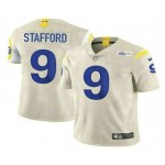 Men's Los Angeles Rams #9 Matthew Stafford Cream 2021 NEW Vapor Untouchable Stitched NFL Nike Limited Jersey