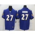 Nike Ravens #27 J.K. Dobbins Purple Vapor Untouchable Limited Jersey