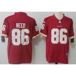 NFL Washington Redskins #86 Jordan Reed Red Vapor Untouchable Limited Jersey