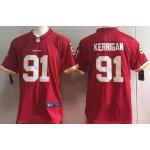 NFL Washington Redskins #91 Ryan Kerrigan Red Vapor Untouchable Limited Jersey