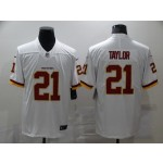 Nike Redskins #21 Sean Taylor White Vapor Untouchable Player Limited Jersey