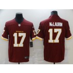 Nike Washington Redskins #17 Terry McLaurin Red Vapor Untouchable Limited Jersey