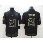 Nike Washington Redskins #21 Sean Taylor Black 2020 Salute To Service Limited Jersey