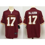 NFL Washington Redskins McLaurin #17 Red 2020 big Logo Name Vapor Untouchable Limited Nike Jersey