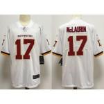 NFL Washington Redskins McLaurin #17 White 2020 big Logo Name Vapor Untouchable Limited Nike Jersey