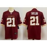 Nike Redskins #21 Sean Taylor Red 2020 big Logo Name Vapor Untouchable Limited Nike Jersey