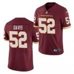 Nike Washington Redskins #52 Jamin Davis Red Vapor Untouchable Limited Jersey