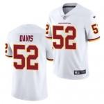 Nike Washington Redskins #52 Jamin Davis White 2021 Vapor Untouchable Limited Jersey