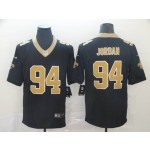 NFL New Orleans Saints #94 Cameron Jordan Black Vapor Untouchable Limited Jersey