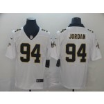 NFL New Orleans Saints #94 Cameron Jordan White Vapor Untouchable Limited Jersey
