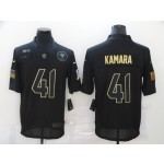 Nike New Orleans Saints #41 Alvin Kamara Black 2020 Salute To Service Limited Jersey