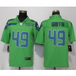 NFL Seattle Seahawks #49 Shaquem Griffin Green Vapor Untouchable Limited Jersey