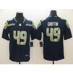 NFL Seattle Seahawks #49 Shaquem Griffin Navy Vapor Untouchable Limited Jersey