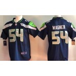 NFL Seattle Seahawks #54 Bobby Wagner Navy Vapor Untouchable Limited Jersey