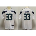 NFL Seattle Seahawks #33 Jamal Adams White Vapor Untouchable Limited Jersey