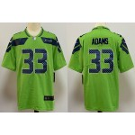 NFL Seattle Seahawks #33 Jamal Adams Green Vapor Untouchable Limited Jersey