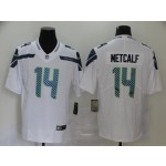 NFL Seattle Seahawks #14 D.K. Metcalf White Vapor Untouchable Limited Jersey