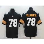 Nike Steelers #78 Alejandro Villanueva black New 2018 Legend Jersey