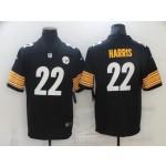 Nike Steelers #22 najee Harris Black Vapor Untouchable Player Limited Jersey