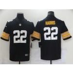 Pittsburgh Steelers #22 Najee Harris Alternate Black Vapor Limited Jersey
