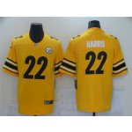 Pittsburgh Steelers #22 Najee Harris Gold Inverted Limited Jersey