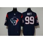 NFL Houston Texans J.J. Watt #99 Blue Team Big Logo Vapor Untouchable Limited Jersey