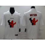 Nike Houston Texans #4 Deshaun Watson  White Shadow Logo Limited Jersey