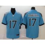 NFL Titans #17 Ryan Tannehill Light Blue Men's Stitched Vapor Untouchable Limited Jersey